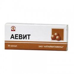 Аевит, капс. 200 мг №30