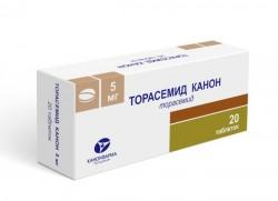 Торасемид Канон, табл. 5 мг №20